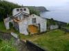Hus vars tak rasade in under vulkanutbrottet, en vanlig syn