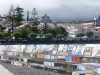 Målningar från båtar i Horta marina