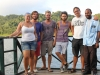 Aurora & Odessa gang: Sofie, Lukas, Daniel, Jakob och Mike