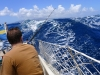 Höga vågor i Bequia sundet