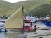 Klassisk karibisk racebåt