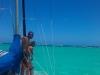 Ankring pågår, Tobago Cays