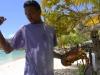 Lobster, i Karibien vanligare än hotdogs på grillen