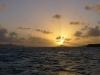 Solnedgång i caysen