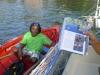 En kändis! Boay boyen Speedy som jobbat 34 år i Walilabou