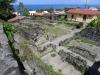 St Pierre, Martinique. Staden som blev totalförstörd 1902 då Mont Pelé hade ett utbrott.